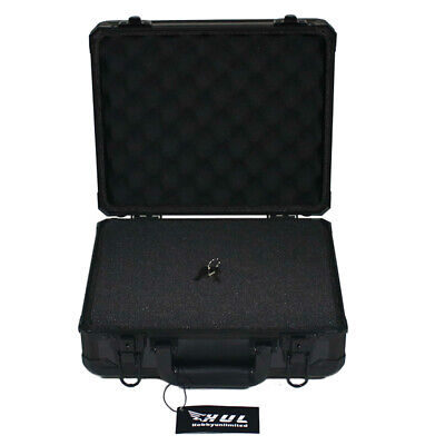 13in Aluminum Hard Case with Pelican 1500 Style Pluck Foam for Cameras Guns Lens