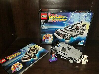 LEGO Back to the Future Time Machine 21103 DeLorean Retired Set