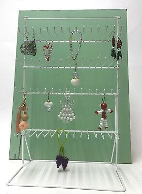 Display Stand 60 peg Hanging or Counter Top / Wall Shop Home FRAME DISPLAY RACK