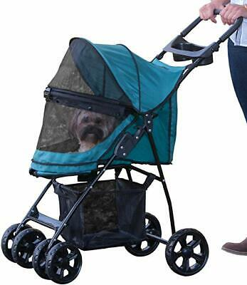 Pet Gear No-Zip Happy Trails Lite Pet Stroller for Cats/Dogs, NEW IN OPEN BOX