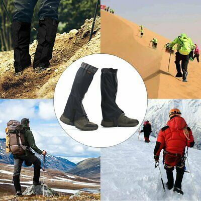 1 Pair OUTAD Waterproof Snow Legging Gaiters Cover for Outdoor Hiking Hunting