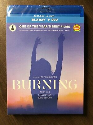 NEW BURNING Lee Chang-Dong Blu Ray & DVD 2019 w Slip Cover Art Canada SEALED