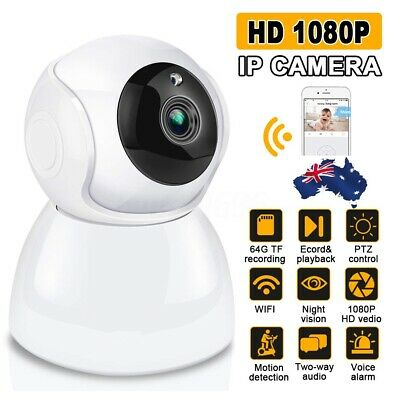 AUGIENB 1080P WIFI Wireless IP Camera Baby Home Monitor Network Security CCTV