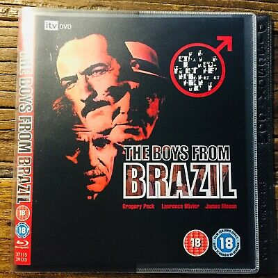 The Boys from Brazil (Blu-ray Disc, REGION FREE) Peck Oliver Mason NO CASE