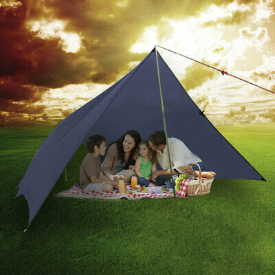 OUTAD 3x4 Meters Ultra-light 40D Silicon Coating Sun Shade Sail for Outdoor