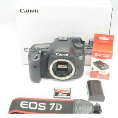 Canon Eos 7D Body With Cf Card