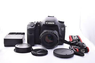 Canon Eos 7D Body Ef 50mm F1.8 Ii