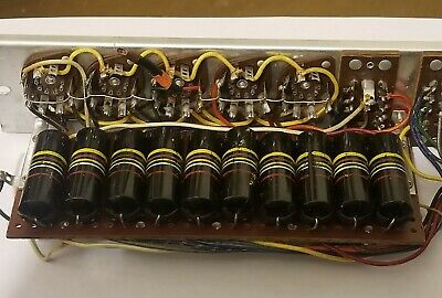Ten Sprague Bumble Bee .47uf 200v 10% Capacitors. Clean Pulls