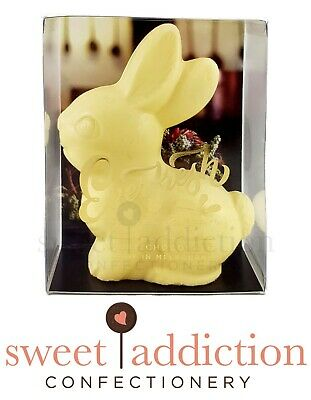 White Chocolate Easter Bunny 70g - Belgian Couverture Chocolate