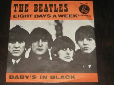 The Beatles - Eight Days A Week / Baby's In Black