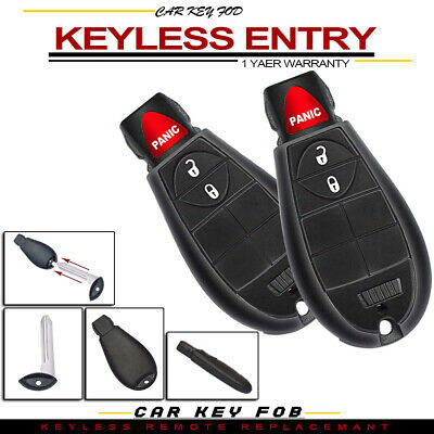 2 FITS 2008-2013 Dodge Charger Remote Fobik Key Keyless Fob FOR M3N5WY783X  ONLY