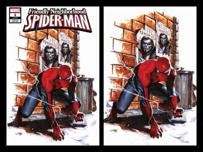 Friendly Neighborhood Spider-Man 1 Dell'otto Virgin Variant Set Nm
