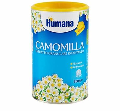 BABY KIDS INSTANT CHAMOMILE CAMOMILE HERBAL TEA DRINK by HUMANA 300gr /12mths +