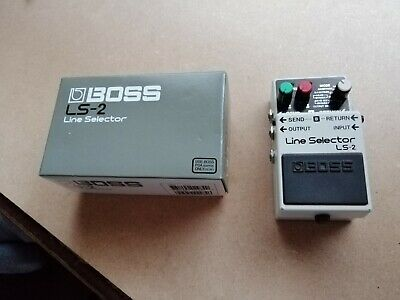 Pedale Boss Line Selector Ls 2