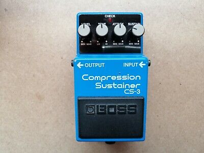Pedale Boss Cs 3 Compression Sustainer Vintage Original Made In Japan