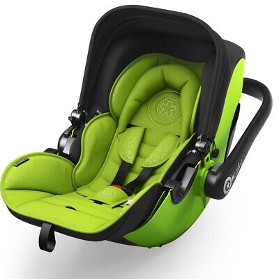 Kiddy Evolution Pro 2 Infant Baby Car Seat Carrier Lime Green Group 0+