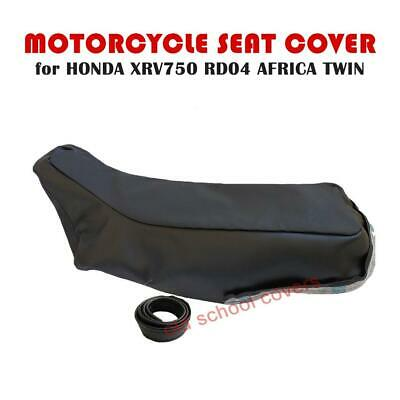 Honda Xrv750 Xrv 750 Rd04 Africa Twin Motorcycle Seat Cover & Strap Textured Top