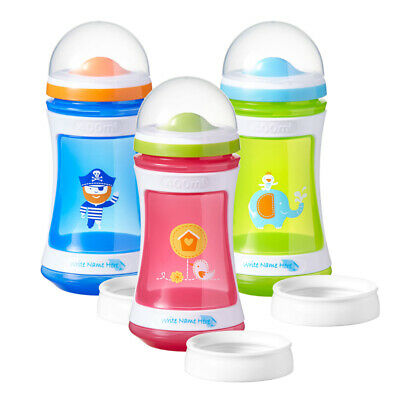 Tommee Tippee Pink Green Explora 2 Stage Drinker 24m+ 400ml