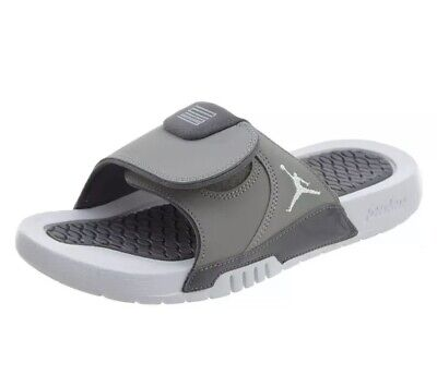 b02bf1aa6 Big Kid s Jordan Hydro XI Retro BG Slide Sandals MEDIUM GREY AJ0022 004 Size  6Y