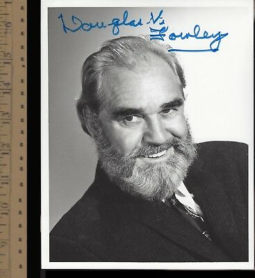 Douglas Fowley-Signed Photo-Wyatt Earp-Westerns-Laurel+Hardy-Singin' In The Rain