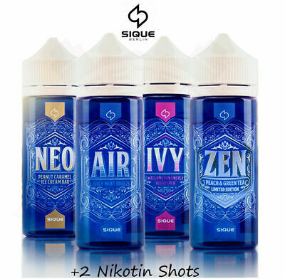 Sique Berlin Air Ivy Neo Zen Liquid Shake and Vape in 120ml Chubby V3 Flasche