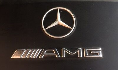 Mercedes AMG Emblem Air Cleaner Plastic Cover C43 E55 CLK55 Engine W210 W202 208