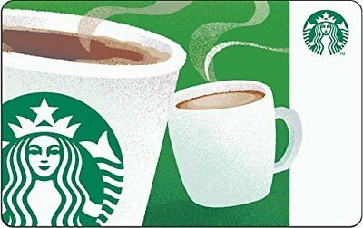 $100 Starbucks Gift Card Fast Delivery Actual Card