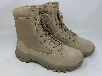 "NEW Response Gear Desert 8/"" Men/'s Service Boots Tan 60K m"
