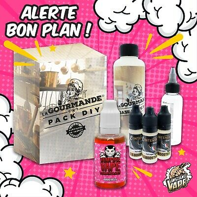 e liquide Pinkman- Pack diy complet  230 ml - 3,6,9,12 mg -Vampire vapes