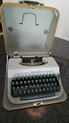 Vintage Swissa Junior Schreibmaschine / Typewriter  Made in Switzerland