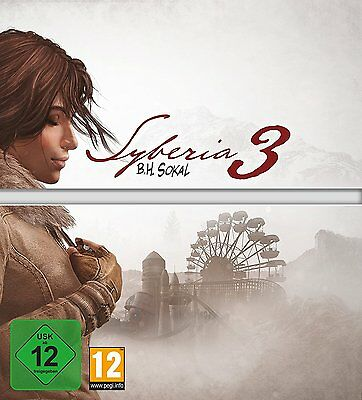 Syberia 3 Three Collectors Limited Edition Sony Ps4 New And Sealed