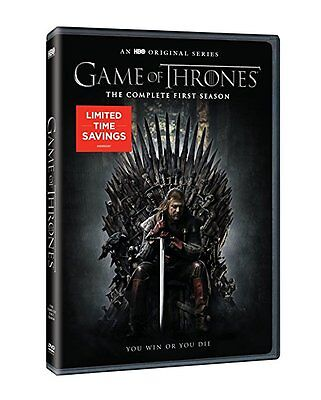 Game of Thrones: The Complete First Season (DVD, 2015, 5-Disc Set) BRAND NEW