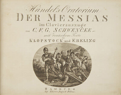 George Frideric HANDEL / HWV 56 Händel's Oratorium Der Messias im 1809