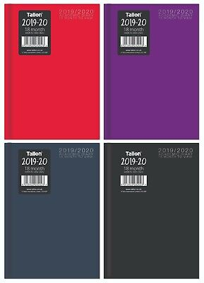 2019-2020 A5 Week to View 18 Months Diary Academic Diary Students Planner HB