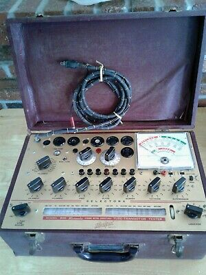 HICKOK 800 Micromho Dynamic Mutual Conductance Tube & Transistor Tester