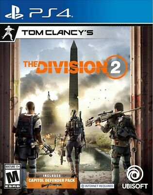 Tom Clancys The Division 2 | PS4 | No CD