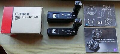 Boxed New Canon Motor Drive Ma Set + Second Used Canon Motor Drive Ma Set