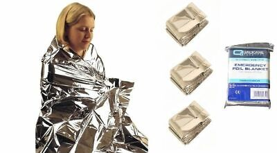 Waterproof EMERGENCY FOIL BLANKET Thermal Camping First Aid Survival Rescue Baby