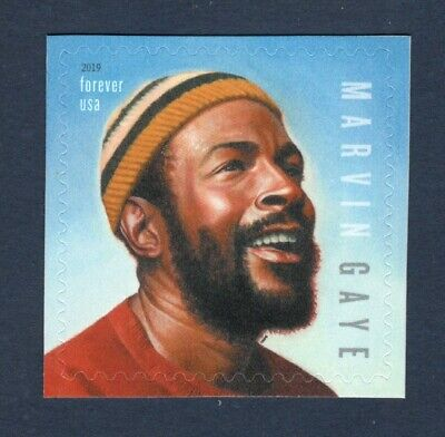 5371 Music Icon Marvin Gaye Mint/nh Free Shipping