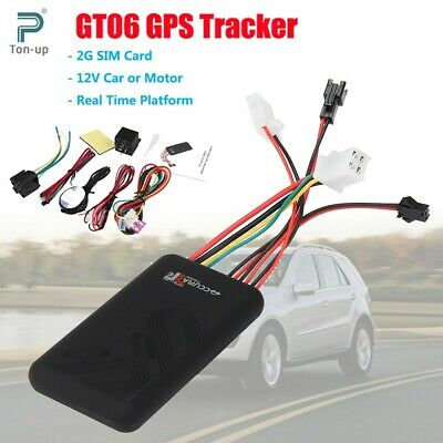 GT06 Realtime GPRS GPS Car Vehicle Tracker Locator Anti-theft SMS Tracking Alarm