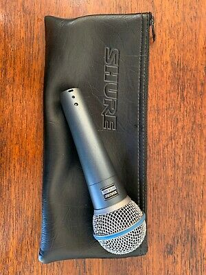 Shure Beta 58A Supercardioid Dynamic Microphone SM58 Vocal Mic