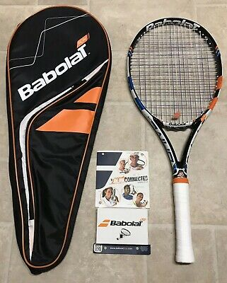 Babolat Pure Drive Lite GT PLAY Tennis Racket & Cover -Superb Condition RRP £250