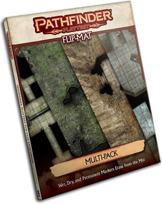 Pathfinder 2nd Edition Playtest Flip-Mat Multi-Pack - Paizo Roleplaying Game