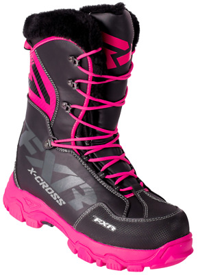 X Cross Women's Boot - Black/Fuchsia