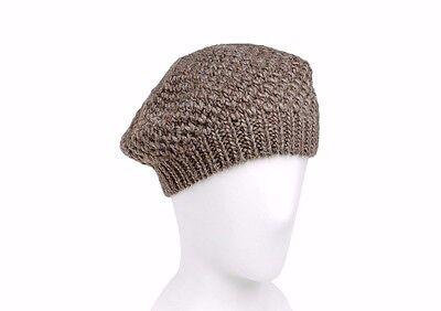 74cbfb6656a BNWT Beautiful Designer JIL SANDER Wool Alpaca Knit Beret Hat One Size ITALY