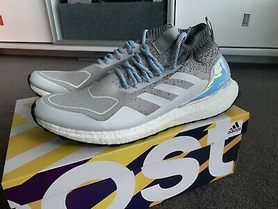 meet e971b c2232 Adidas Ultra Boost Mid Silver Shoes Size Us 10 Nmd Epic React Pure Eqt Air  Max