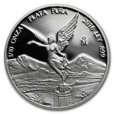 Mexico 1/10 oz Silver Libertad Proof (Random Year) - SKU#63834