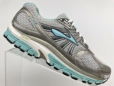 30b9f4f1a25 BROOKS ARIEL ADAPTABLE Running Shoes Sneakers Grey Blue Women s Size ...