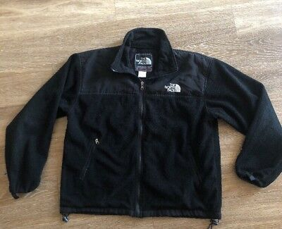 04f9fb380 THE NORTH FACE Summit Series Gore-Tex Black Windstopper Fleece Jacket Large
