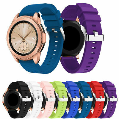 Silicone Soprt Replacement Bracelet Strap Band For Samsung Galaxy Watch 42mm